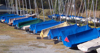Selby Bay Sailing Center - Dry Storage Yard